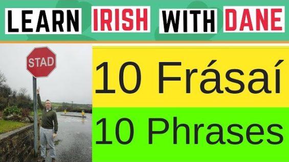 10 Best Irish Phrases – Useful & Practical