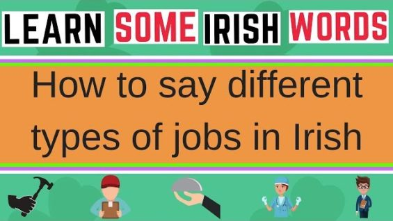 20 Job Titles In Irish – Learn Irish Words