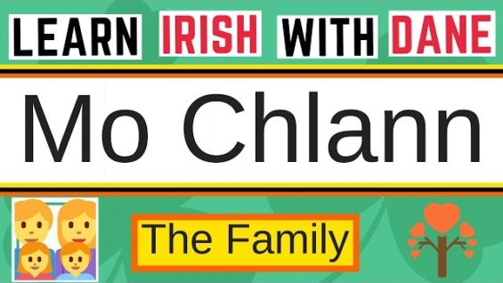 How To Describe The Family In Irish – Learn Irish