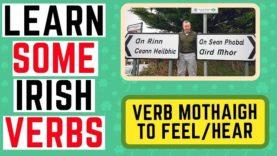 10 Useful Phrases Using The Irish Verb Mothaigh – To Feel