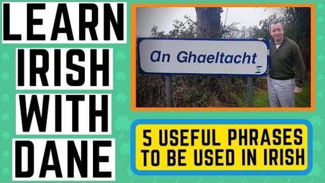 5 Useful Irish Phrases