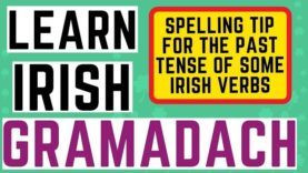 Irish Grammar Explained – Past Tense