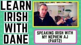 Speaking Irish With My Nephew AJ Part 2