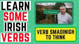 How To Learn Irish – Verb Smaoinigh – To Think
