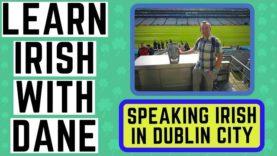 Speaking Irish in Dublin City