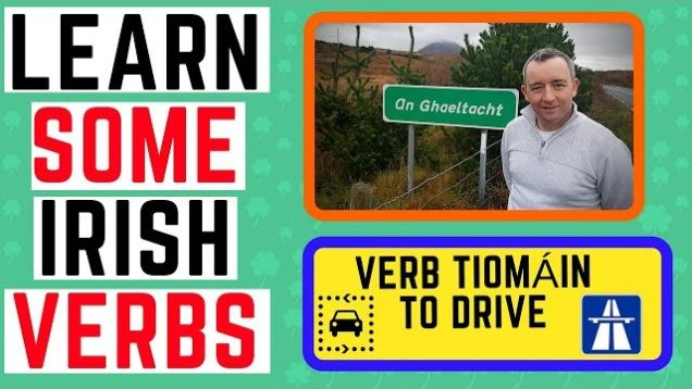 Learn Irish – Verb Tiomáin To Drive