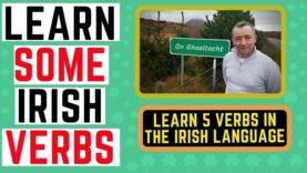 How to Speak the Irish Language – Irish Verbs – Learn Irish
