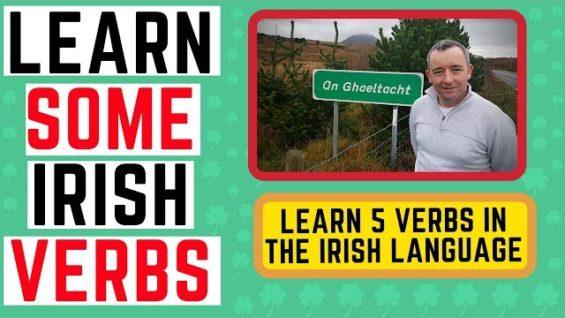 Learn Irish Verbs – 5 Verbs for Conversational Irish – Irish Language Lessons