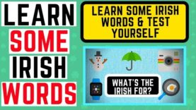 How to Say Irish Words – Learn Irish and Test Youself