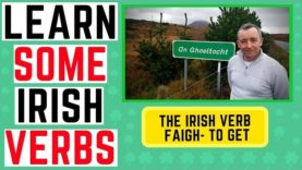 Learn to Speak Irish – Verb Faigh to get