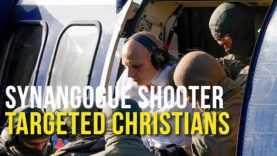 Synagogue Shooter Targeted Christians