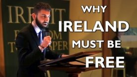 Why Ireland Must Be Free | Ben Scallan at Irexit Kerry