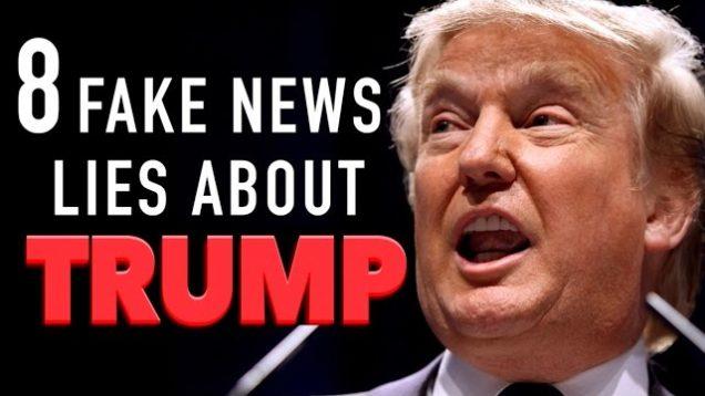 8 Mainstream Media Lies About President Trump