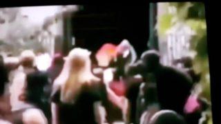 Antifa attacks catholic church in chile
