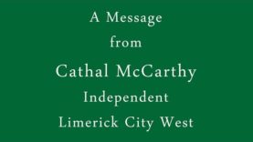 Cathal McCarthy, Independent – Limerick City West