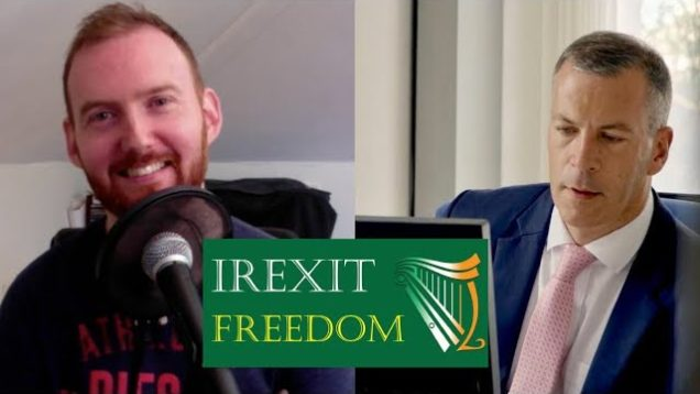 Discussing IREXIT Freedom to Prosper with Hermann Kelly