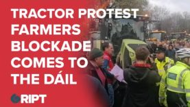 'Farming Dying Out In Ireland' – Tractor Protest Hits Dublin