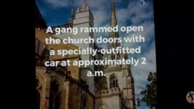 French Cathedral Robbed by Gang.