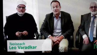 Gay prime minister celebrating Eid Muslim  festival