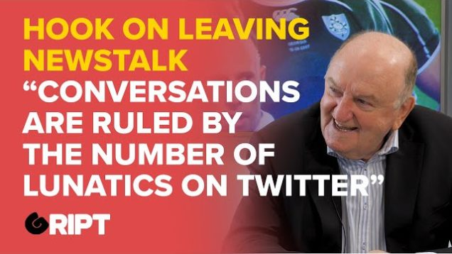 George Hook on being fired from Newstalk and the Twitter mob that runs the media