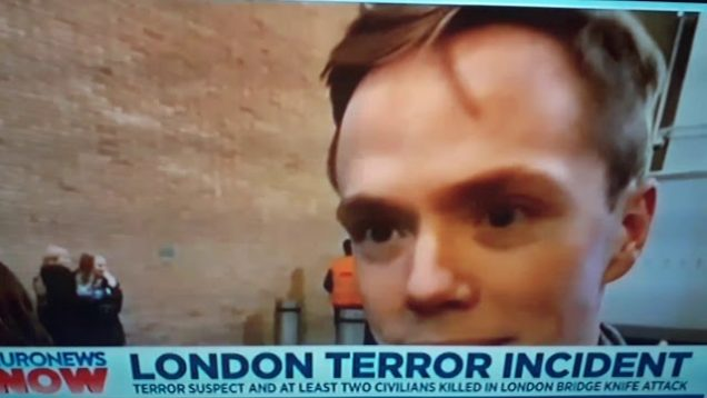 LONDON TERROR INCIDENT Three Dead including  terror suspect.