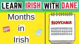 Months Of The Year In Irish