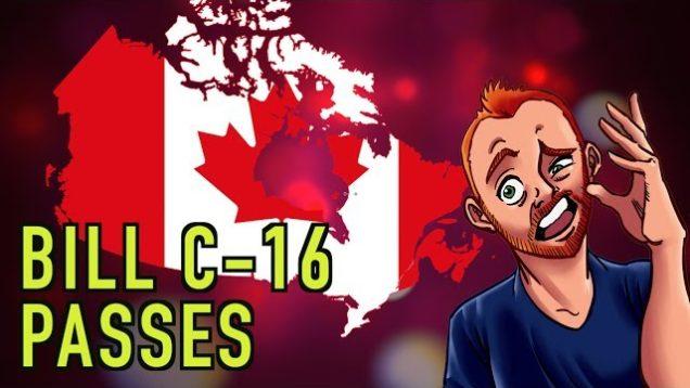 Oh Canada: Free Speech Falls & Tyranny Rises
