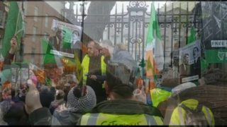 """OUR Streets! OUR Streets!"" #FreeSpeech Rally in Dublin Tells The Dail Ireland Will NOT Be Silenced!"