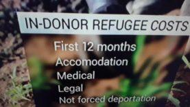 Over seas Aid Being spent on Asylum seekers in Ireland