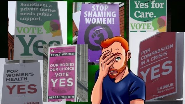 Responding to Absurd Pro-Abortion Signs in Dublin