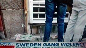SWEDEN GANG VIOLENCE