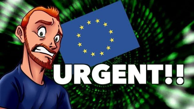 The EU is About to Destroy The Internet #DeleteArt13