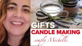 WATCH Michelle's candle making session on HomeGrown Home; beautiful, simple, unique and sustainable!