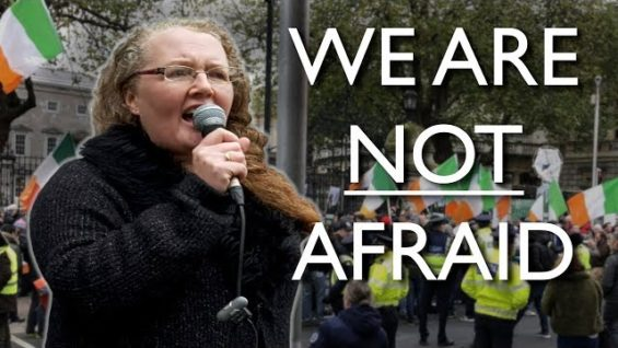 """We are not Afraid"" – Prof. Dolores Cahill 