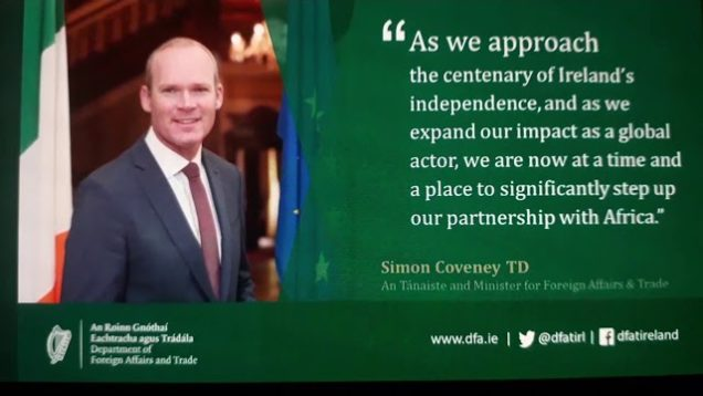 What are fine Gael at now