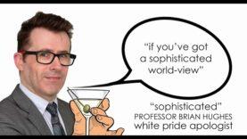 Brian Hughes refuses to apologise for 'white pride' apologetics