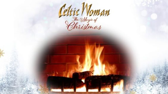 Celtic Woman – Amid The Falling Snow – Official Holiday Yule Log