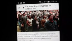 Citizenship ceremonies to Resume in killarney next week.