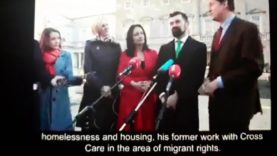Eamonn Ryan Green party Joe's experience with Migrants . And will lead to Mass Migration