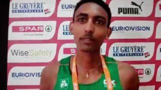 Efrem Gidey U20 European Bronze medalist . replacement immigration