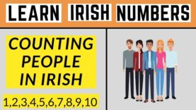 How To Count People In Irish