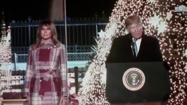 President Trump the Cross is the True meaning of Christmas .