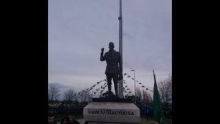 The Commandant Liam Mellows Statue Unveiling at Remembrance Park, Finglas, Dublin on 07/12/19