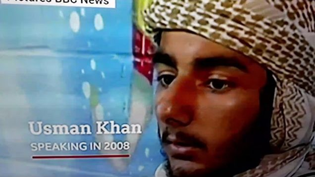 Usman Khan in 2008 I am no terrorist