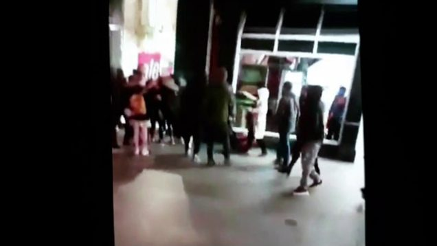 AFRICAN gang attacks tourist and his Girlfriend from unwanted advances on o Connell street