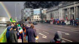 Cork Free Speech Rally. Irish Nationalists vs The Dregs of Humanity