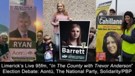 #GE2020 Limerick Debate: Aontú, The National Party, Solidarity/People Before Profit