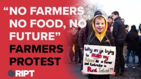"""NO FARMERS, NO FOOD, NO FUTURE"""