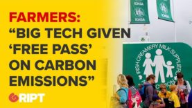 """""""Stop scapegoating famers for carbon emissions while big tech gets a free pass"""" : Farmers protest"""