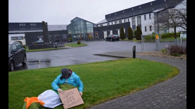 The Irish Homeless Protest Direct Provision
